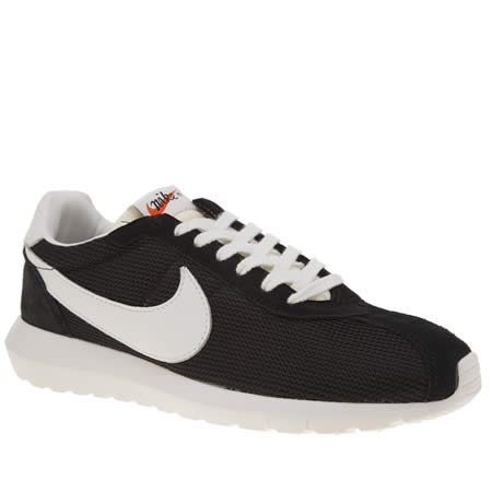 aaozr Mens Black & White Nike Roshe Ld1000 Qs Trainers | schuh