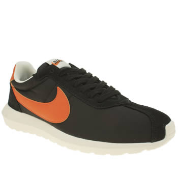 Mens Nike Black & Red Roshe Ld-1000 Trainers