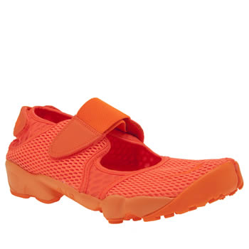 Nike Orange Rift Breathe Mens Trainers