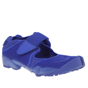 Nike Blue Air Rift Breathe Mens Trainers