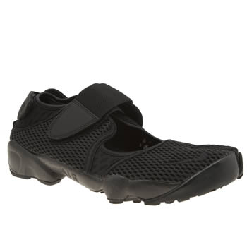 Nike Black Air Rift Breathe Trainers