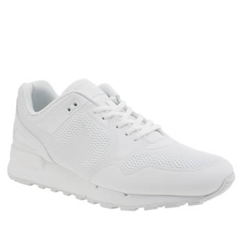 Mens Nike White Air Pegasus 89 Trainers