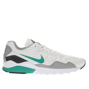 Nike White & Green Air Zoom Pegasus 92 Mens Trainers