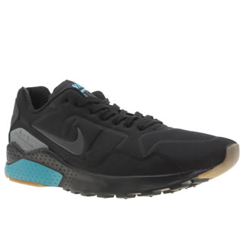 Nike Black and blue Pegasus 92 Mens Trainers
