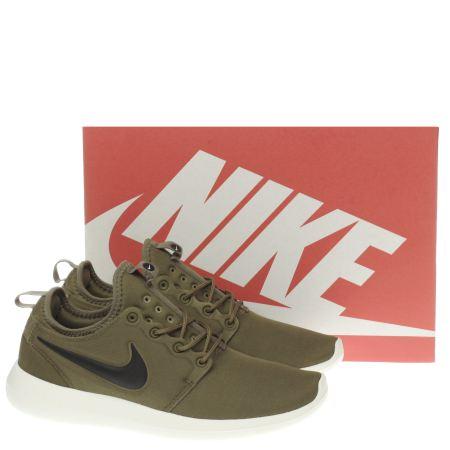 yqwov Mens Khaki Nike Roshe Two Trainers | schuh