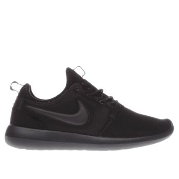 Nike Black Roshe Two Mens Trainers