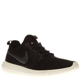 Nike Black & Grey Roshe Two Mens Trainers