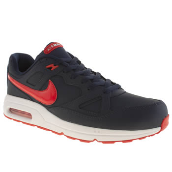 Mens Nike Navy Air Max Span Trainers