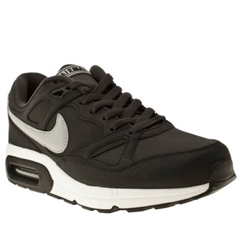 mens nike dark grey air max span trainers
