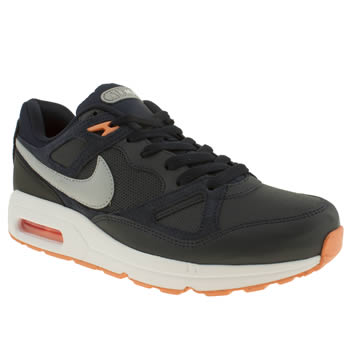 Nike Navy & Grey Air Max Span Trainers