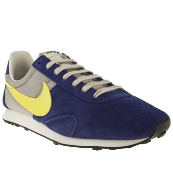 mens nike blue pre montreal racer trainers