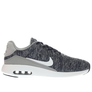 Nike Navy & White Air Max Modern Flyknit Trainers