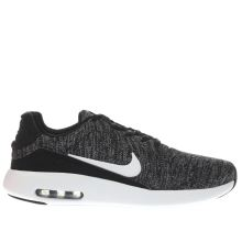 Nike Black & White Air Max Modern Flyknit Mens Trainers
