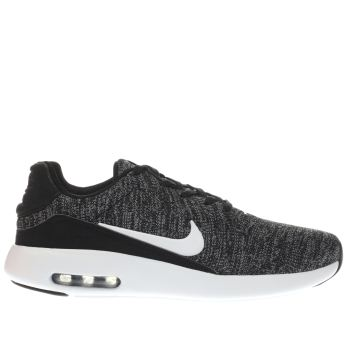Nike Black & White Air Max Modern Flyknit Trainers