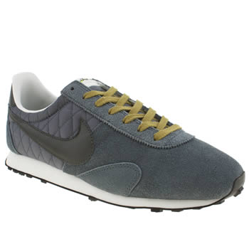 mens nike grey pre montreal racer trainers