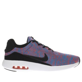 Nike Blue & Red AIR MAX MODERN FLYKNIT Trainers