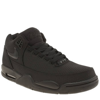 Mens Nike Black Flight Squad Trainers