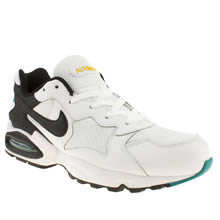 White & Black Nike Air Max Triax