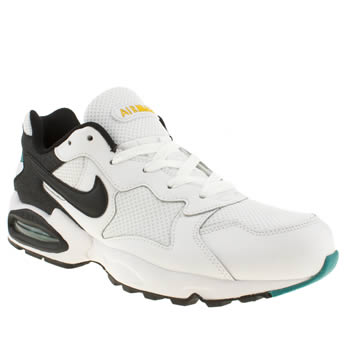 Nike White & Black Air Max Triax Trainers