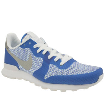 Nike Blue Internationalist Ns Trainers