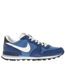 Nike Navy Internationalist Mens Trainers