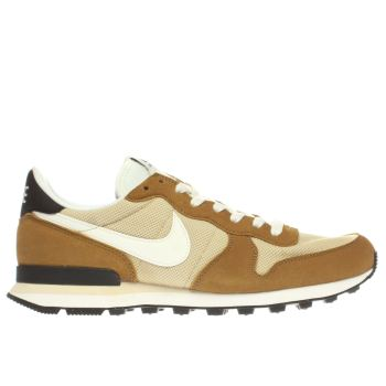 Nike Beige Internationalist Trainers