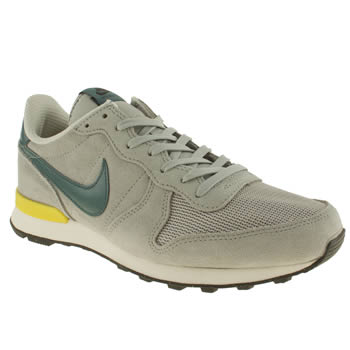 Mens Nike Light Grey Internationalist Trainers