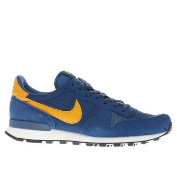 Nike Blue & Yellow Internationalist Trainers