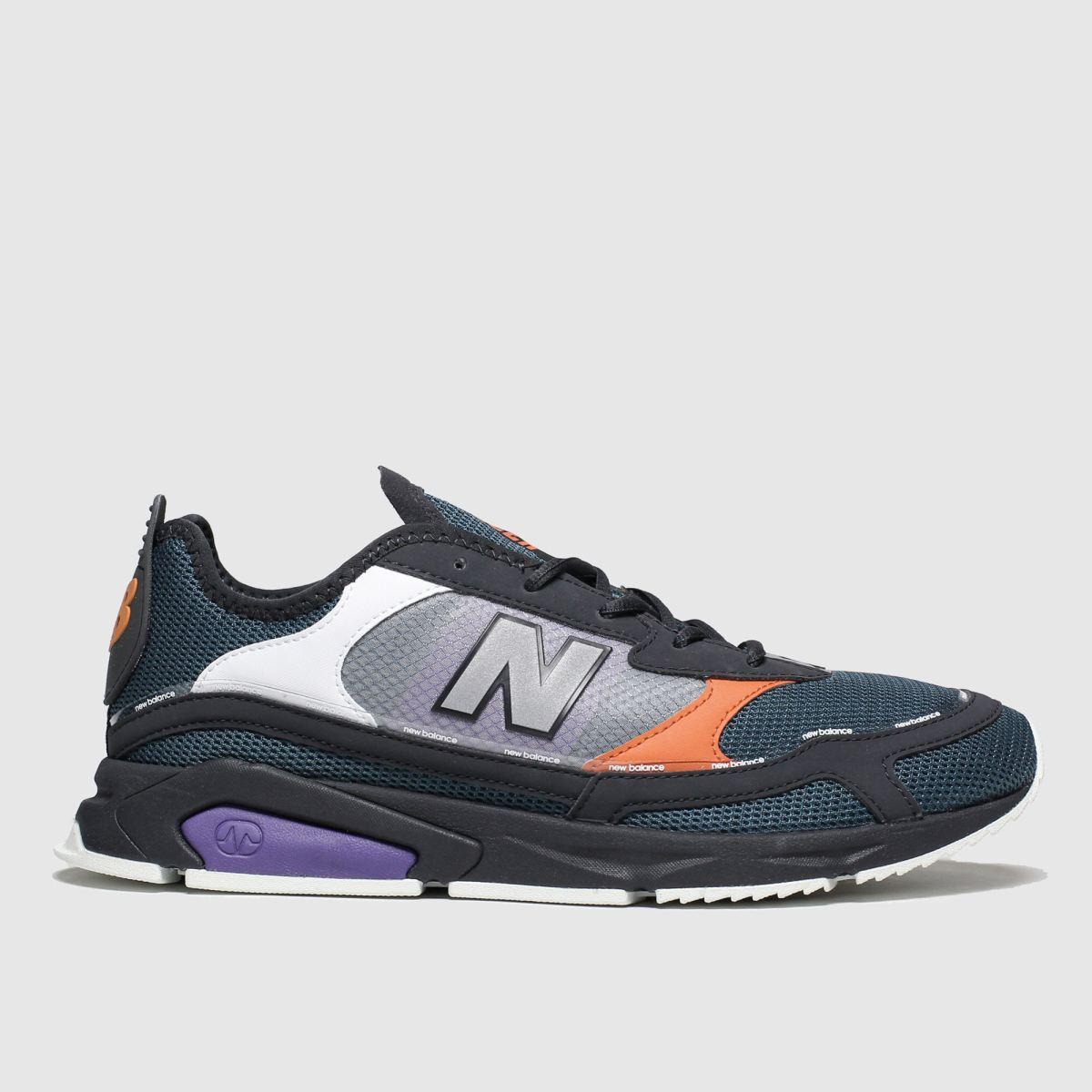New Balance New Balance Black & Orange Xrc Trainers