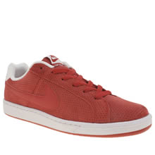 Nike Red Court Royale Premium Mens Trainers