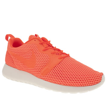 Nike Orange Roshe One Hyperfuse Br Mens Trainers
