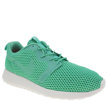 Nike Turquoise Roshe One Hyperfuse Br Trainers