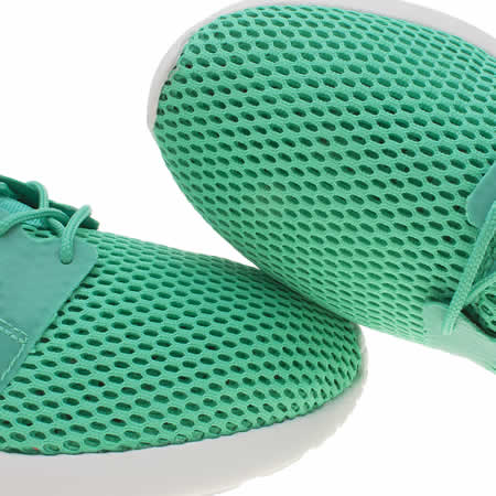 qxqxp Mens Turquoise Nike Roshe One Hyperfuse Br Trainers