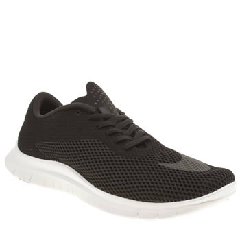 Mens Nike Black Free Hypervenom Low Trainers