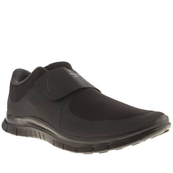 Mens Nike Black Free Socfly Trainers