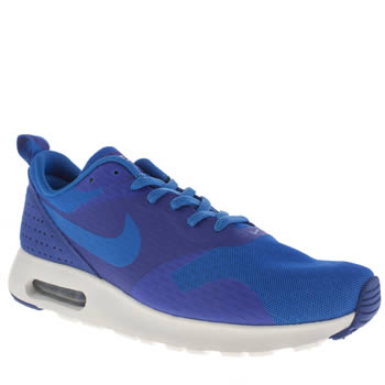 Mens Nike Blue Air Max Tavas Essential Trainers