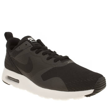 Mens Nike Black Air Max Tavas Essential Trainers