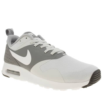 Mens Nike Grey Air Max Tavas Essential Trainers