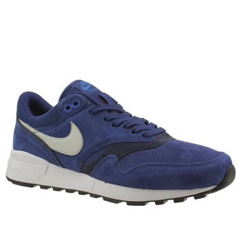 Mens Nike Blue Air Odyssey Ltr Trainers