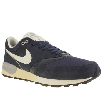 NIKE NAVY AIR ODYSSEY TRAINERS