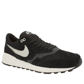 Mens Nike Black & White Air Odyssey Ltr Trainers