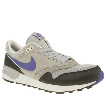 Mens Nike Grey Air Odyssey Trainers