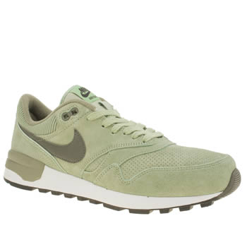 Mens Nike Light Green Air Odyssey Ltr Trainers