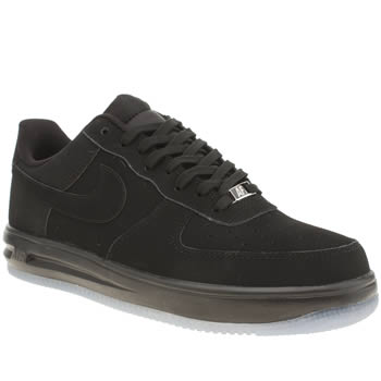 Mens Nike Black Lunarforce 1 Trainers