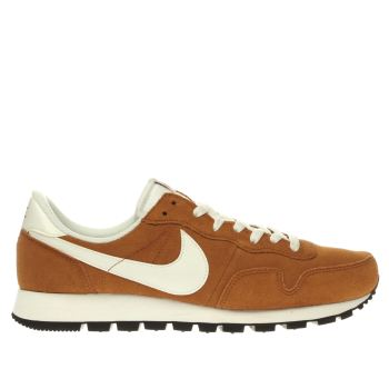 Nike Orange Air Pegasus 83 Trainers