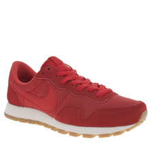 Nike Red Air Pegasus 83 Trainers