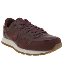 Nike Burgundy Air Pegasus 83 Premium Trainers