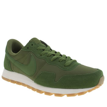 Mens Nike Green Air Pegasus 83 Trainers