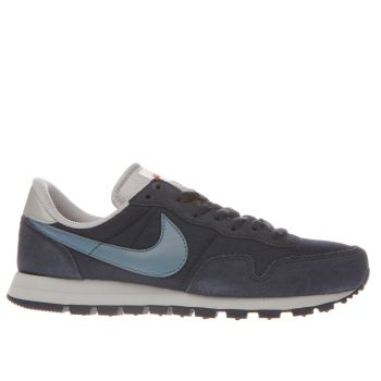 NIKE NAVY AIR PEGASUS 83 TRAINERS