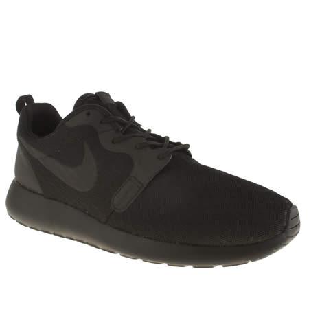 vszyj Mens Black Nike Roshe Hyperfuse Trainers | schuh